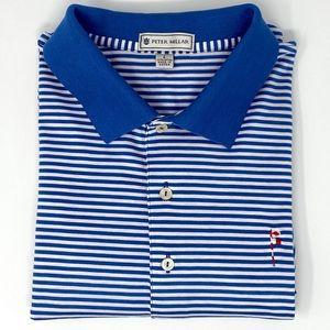 Friar's Head Golf Club Peter Millar Golf Shirt L